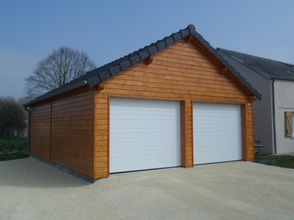 Garage Garage Bois Double